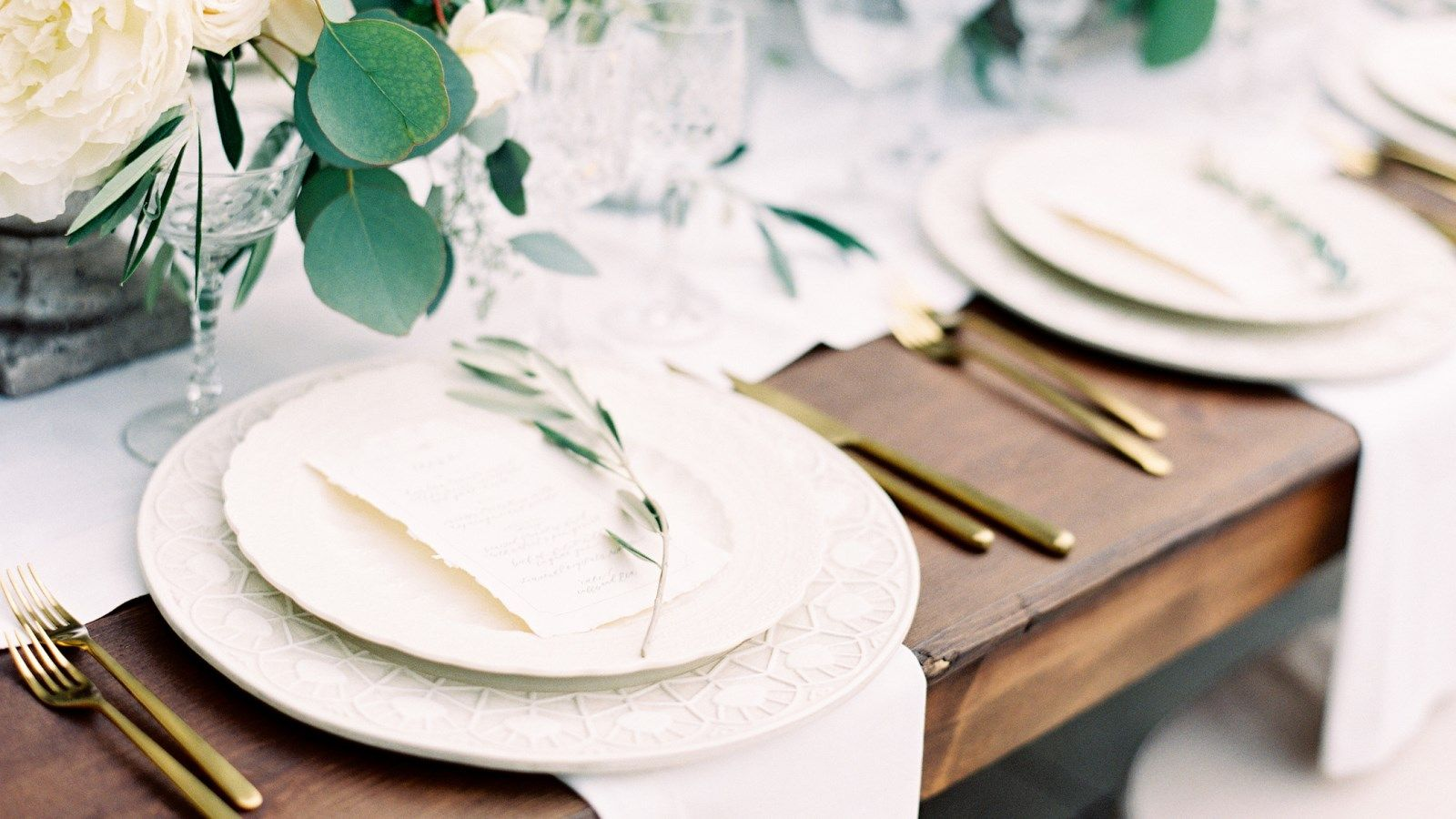 Vancouver Wedding Details - Table Setting